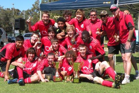 U16 Colts Cup Champions