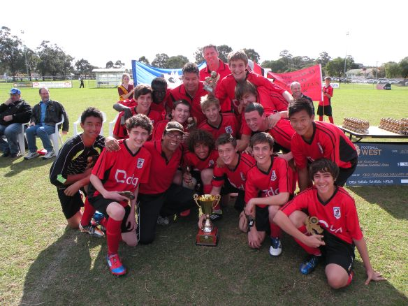U16 Colts - League Champions