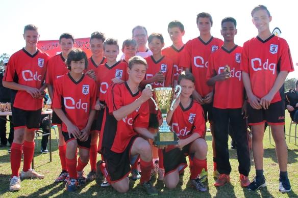 U14 Div A League Champions Kingsway Hawks