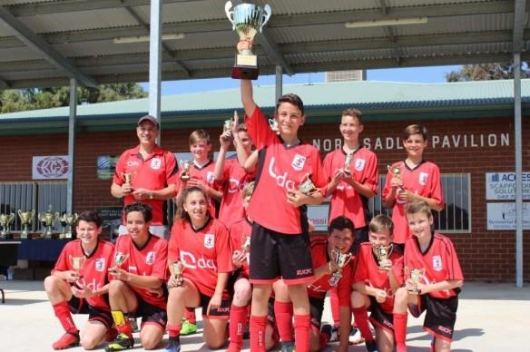 U14 Eagles Cup Winners