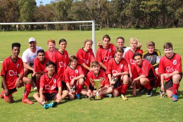 U16 Hawks League Champions 1